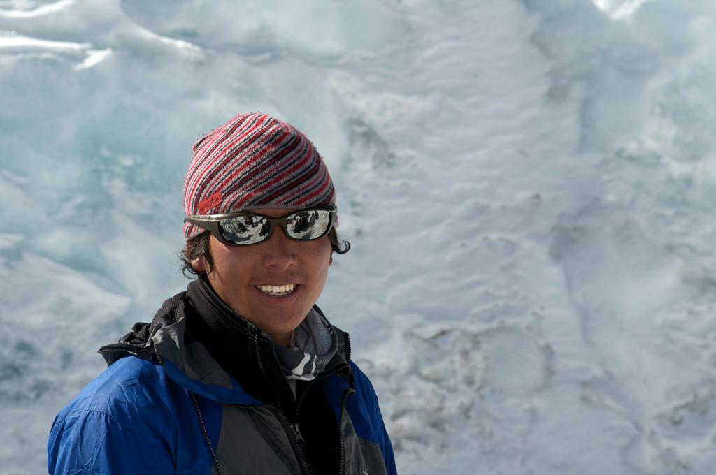 Sherpa Climber in Nepal